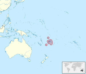 Fiji AntWiki - Fiji location