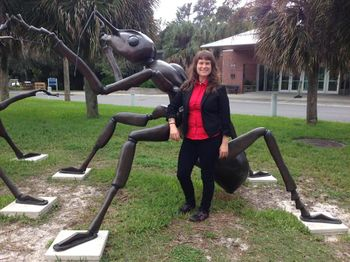 Corrie Moreau at the Florida Museum of Natural History.jpg
